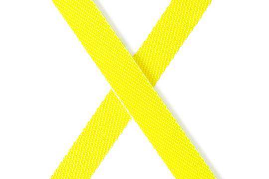 Componenti di colore giallo neon