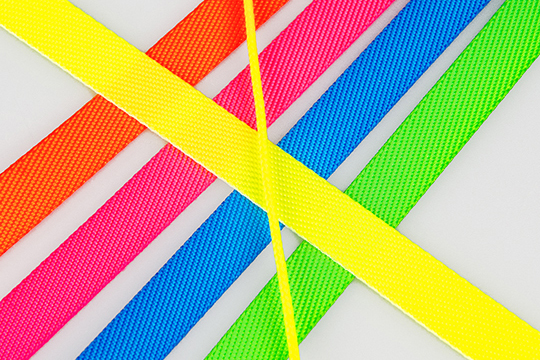 Neon-colored components
